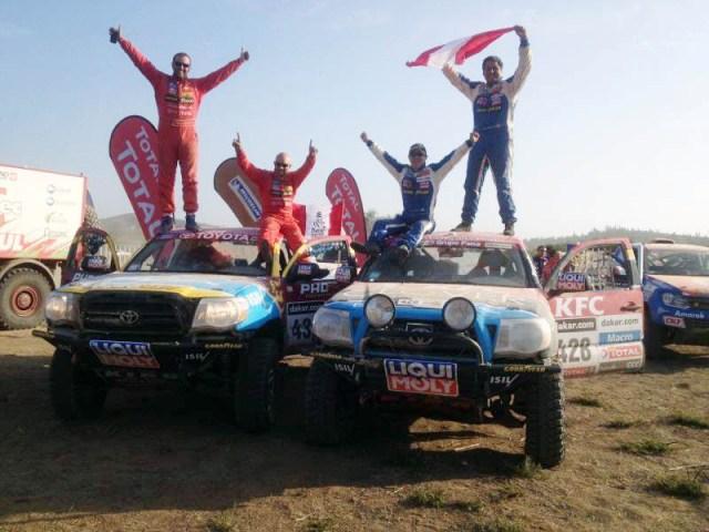 Team Duro 4x4 - Dakar 2013 / Foto: Prensa Duro 4x4