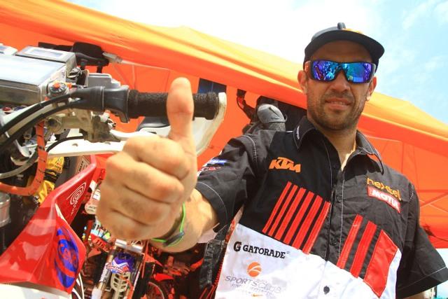 Felipe Ríos - Top 30 Rally Dakar / Foto: Prensa Ríos