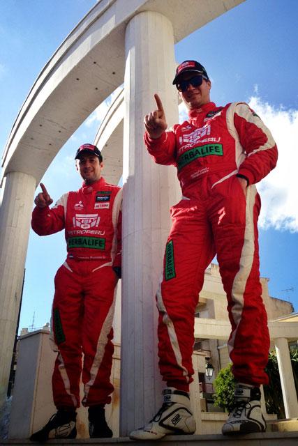 Nicolás Fuchs & Fernando Mussano - Rally Grecia / Foto: Prensa Fuchs