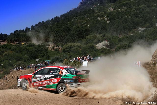 Nicolás Fuchs - Rally Italia / Foto: Prensa Fuchs