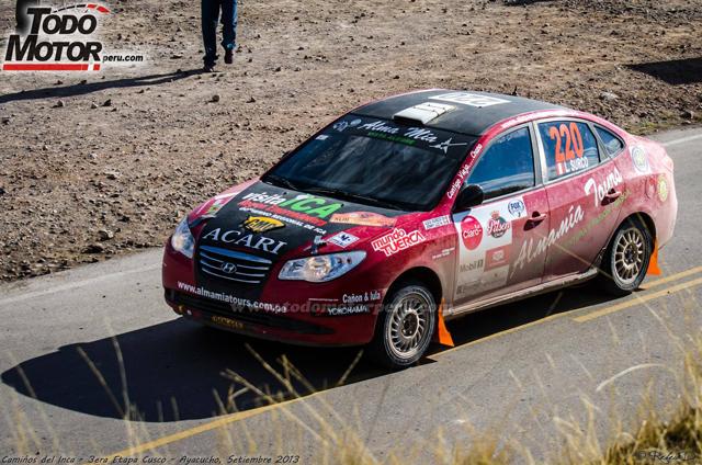 Luis Surco - 5 Etapa CDI 2013 / Foto: Todo Motor