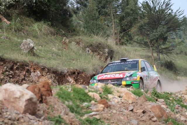 Richard Palomino - Campeonato Peruano de Rally / Foto: Prensa Team Wari