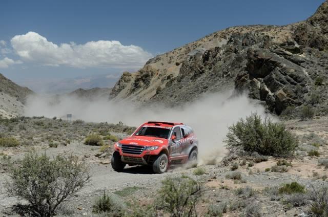 Christian Lavieille - Autos Dakar 2014 / foto: facebook Lavieille