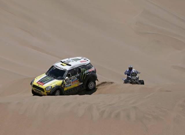 Nani Roma - Autos Dakar 2014 / Foto: Facebook Nani Roma