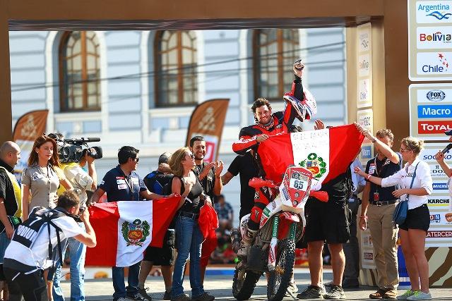 Tato Heinrich - Motos Dakar 2014 / Foto: Prensa Tato Heinrich