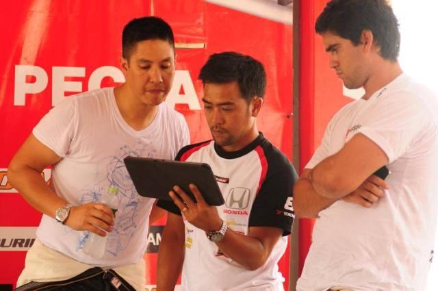 Christian Kobashigawa Ignacio Espinosa y José Wong / Foto: Facebook Kobashigawa