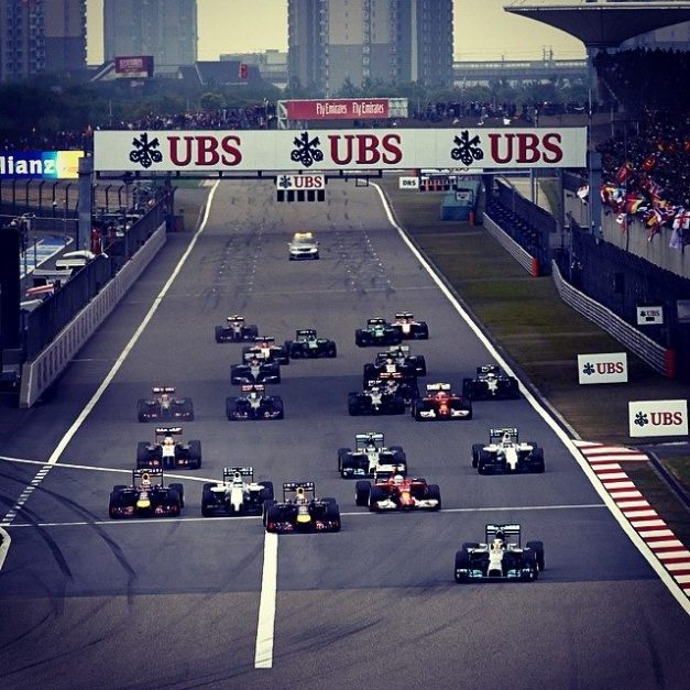 GP China / Foto: Facebook Lewis Hamilton