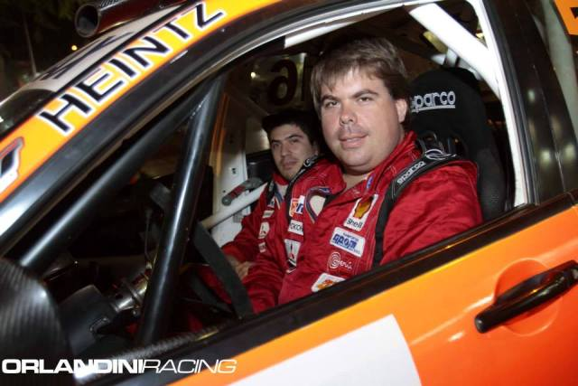 Raúl Orlandini - Piloto de Rally / Foto: Facebook Orlandini