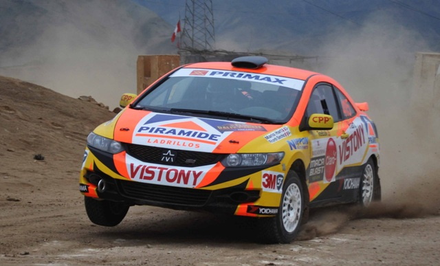 Mario Hart - Rally Cañete / Foto: Prensa Hart