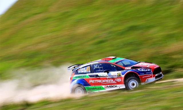 Nicolás Fuchs - Rally Polonia / Foto: Prensa Fuchs
