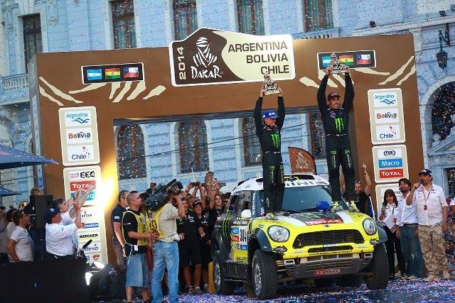 Nani Roma - Campeón Rally dakar 2014 / Foto: Prensa Dakar Series