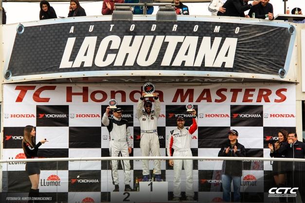 Podio Copa Honda TC Masters / Foto: Prensa TC Masters