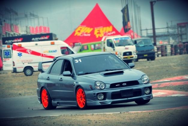 Héctor Flores – Subaru Impreza WRX - Trackday de Autocross / Foto: Prensa CADEPOR
