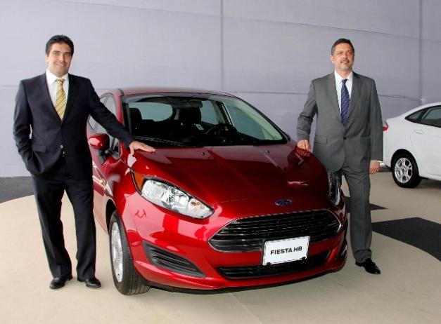 Gustavo Picciafuoco & Alberto Garasino - Presentación de Ford Perú / Foto: Prensa Ford