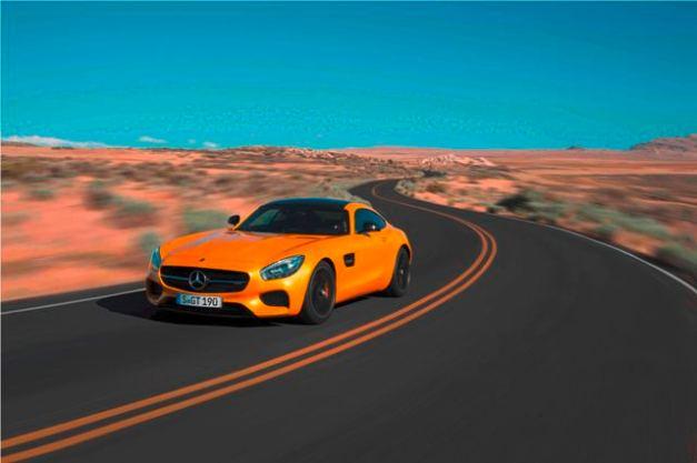 Mercedes-Benz AMG GT / Foto: Prensa Motorshow 2014