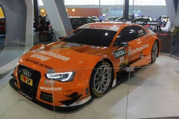 Audi RS5 DTM - Motorshow 2014 / Foto: Facebook Motorshow