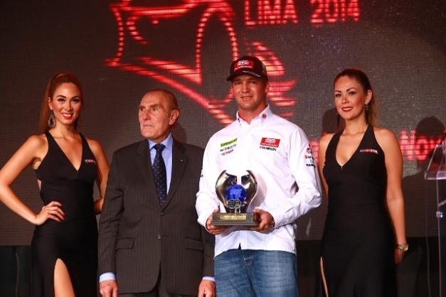 Nicolás Fuchs en la inauguración del Motorshow 2014 / Foto: Prensa Fuchs