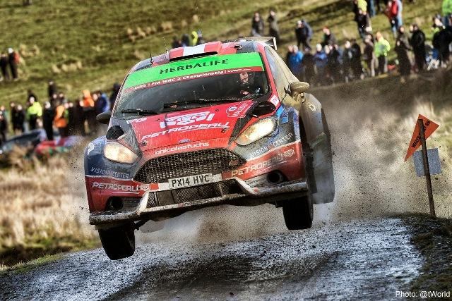 Nicolás Fuchs - Rally de Gales / Foto: Prensa Fuchs