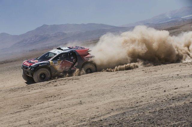 Carlos Sainz - Rally Dakar 2015 / Foto cortesia: Red Bull Content Pool