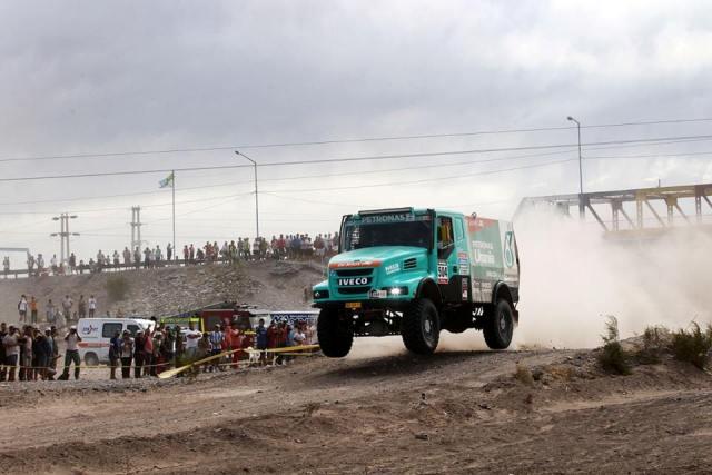 Hans Stacy - Dakar 2015 / Foto: Facebook Dakar De Rooy