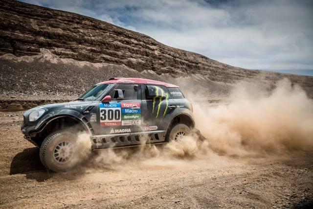 Nani Roma - Dakar 2015 / Foto: Monster Energy X-Raid Team