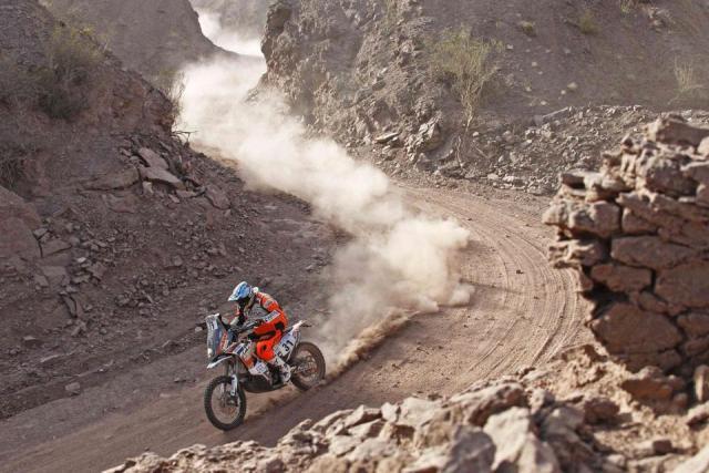 Pablo Quintanilla  - Dakar 2015 / Foto: Facebook Pablo Quintanilla