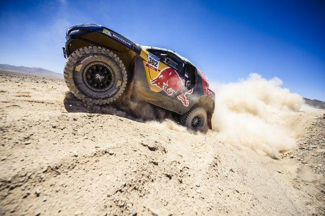 Stephane Peterhansel - Rally Dakar 2015 / Foto cortesia: Red Bull Content Pool