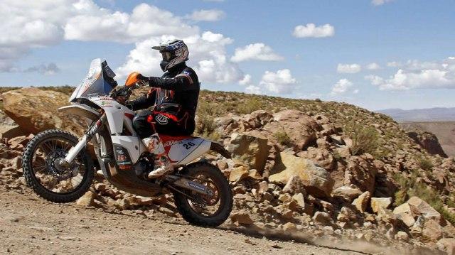 Toby Price - Dakar 2015 / Foto: Facebook Toby Price
