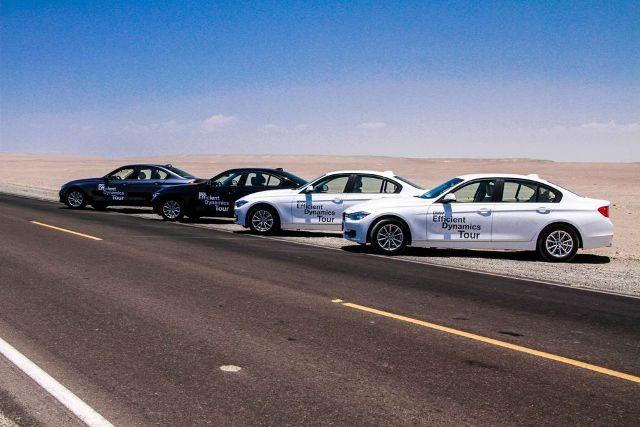 BMW Efficient Dynamics Tour / Foto: Prensa BMW