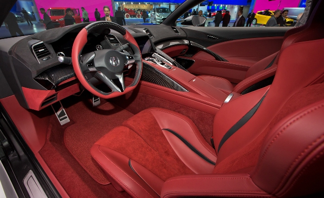 Honda Acura NSX 2015 / Foto: Prensa Honda