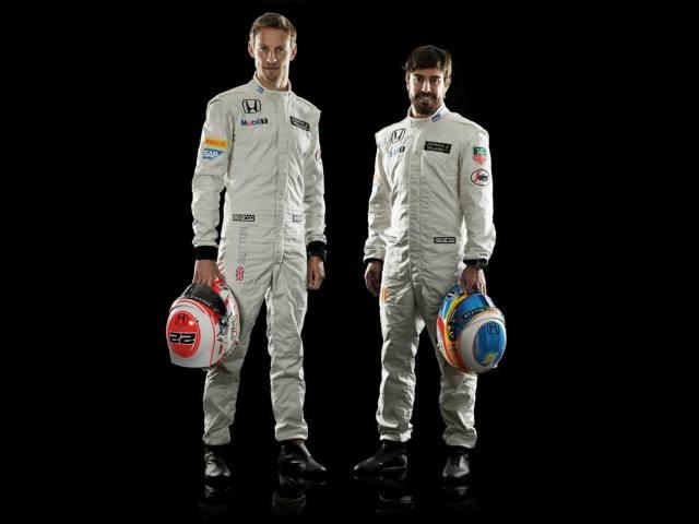 Jenson Button y Fernando Alonso - Mc Laren Honda / Foto: Prensa Honda