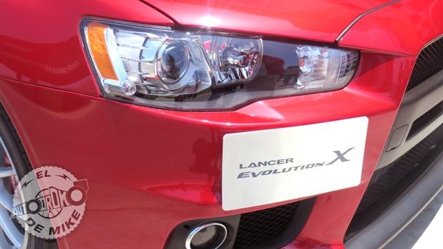 Mitsubishi Lancer Evolution X - Detalle / Foto: Stephanny Padilla