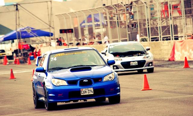 Subaru Impreza de Lee Alva vs Subaru VRZ de Alonso Jaque / Foto: Prensa CADEPOR