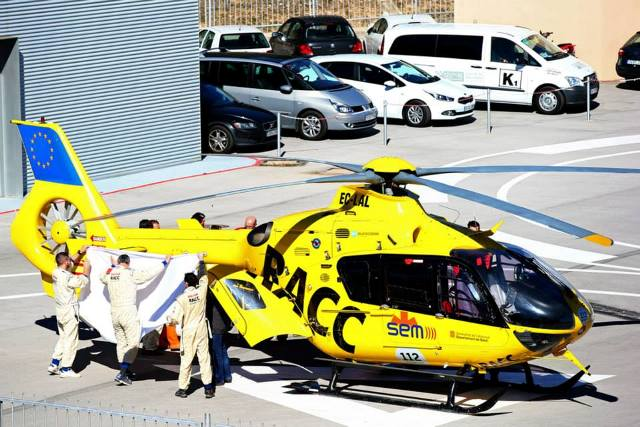 Fernando Alonso - Accidente / Foto: Facebook Fernando Alonso