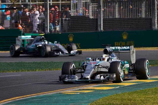 Lewis Hamilton & Nico Rosberg - GP Australia / Foto: Facebook Mercedes AMG Petronas