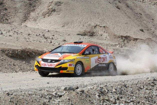 Mario Hart - Rally Chilca / Foto: Prensa Hart