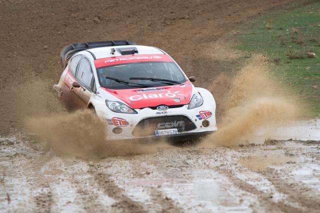 Ramón Ferreyros - Campeonato de España de Rally de Tierra/ Foto: Facebook Ramón Ferreyros