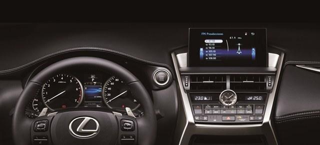 Lexus NX - Interior / Foto: Prensa Lexus