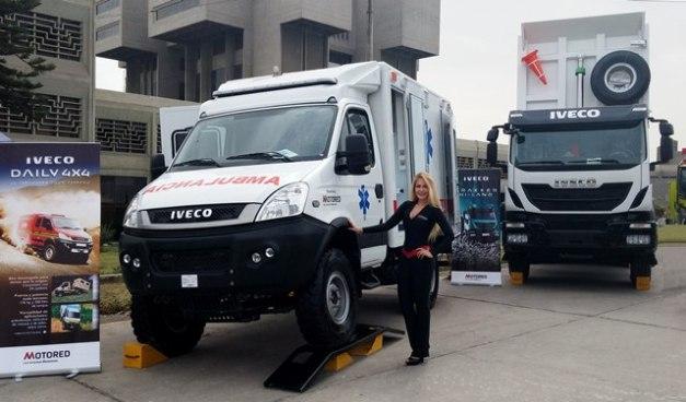 Ambulancia Iveco - SITDEF / Foto: Prensa IVECO