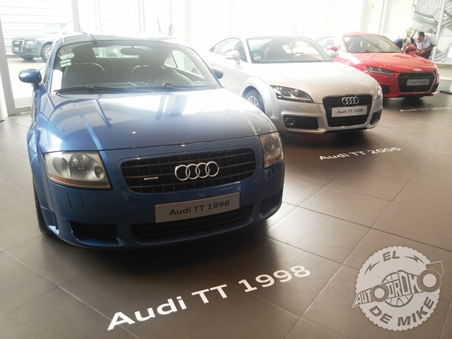 Presentación Audi TT Coupe 2015 / Foto: El Autódromo de Mike