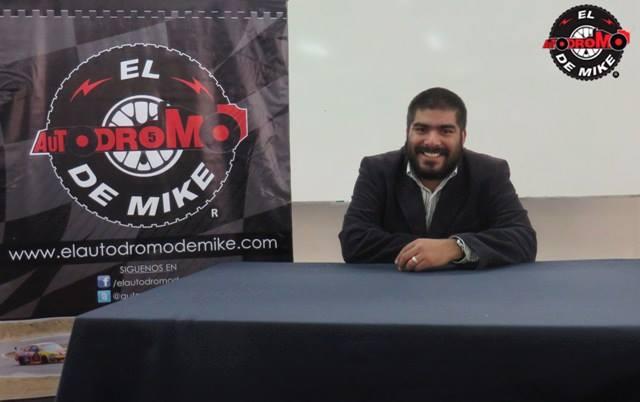 Miguel  Angel Rivadeneyra Urbina - Director de El Autodromo de Mike