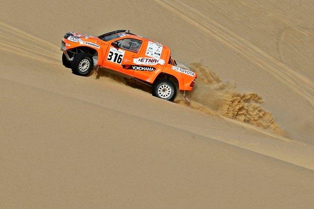 Raúl Orlandini - Rally Los Faraones / Foto: Prensa Orlandini