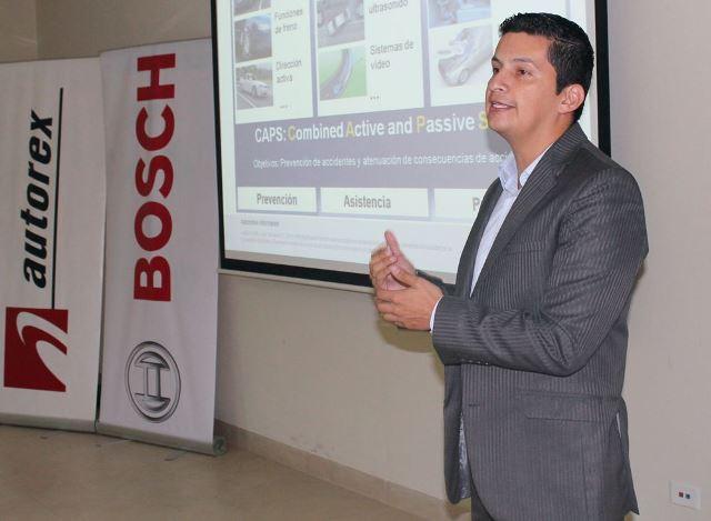 Juan Sanabria - Especialista invitado por Bosch / Foto. Prensa Bosch