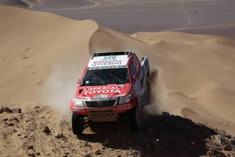 Toyota - Rally Dakar / Foto: facebook Toyota Latinoamerica