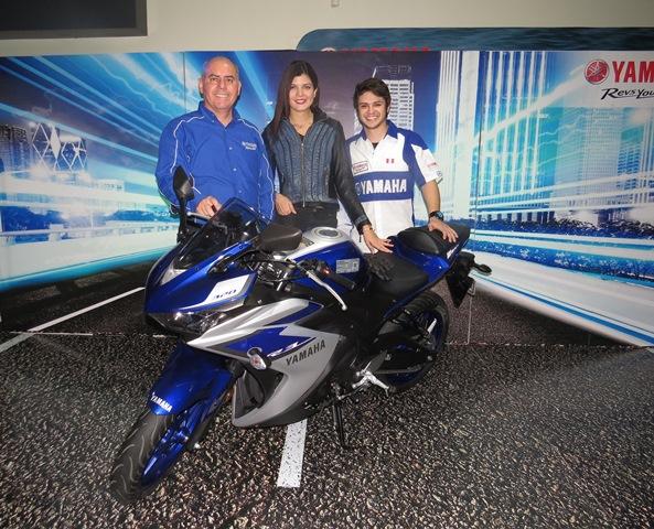 Presentación de Yamaha R3 / Foto: Prensa Yamaha