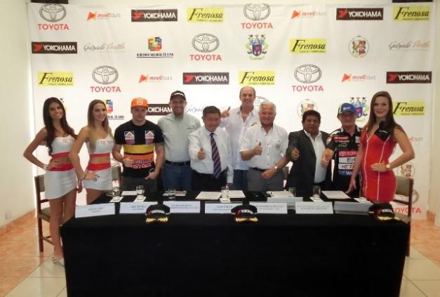 Presentación Rally Premio Regional de Lima / Foto: Prensa ACP