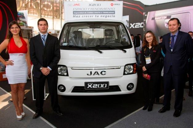 Presentación del Mini Truck JAC X 200 / Foto: Prensa JAC
