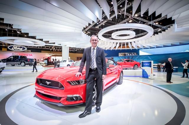 Ford en el Salón Buenos Aires / Foto: Prensa Ford