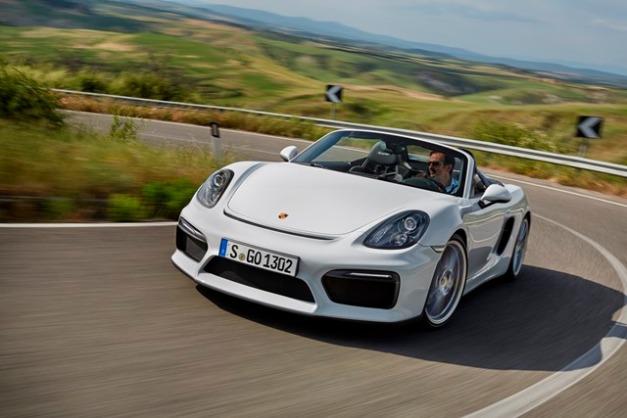 Porsche Boxster Spyder / Foto: Prensa Porsche