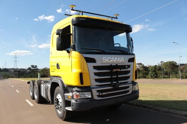 Scania G360 6x4 / Foto: Prensa Scania